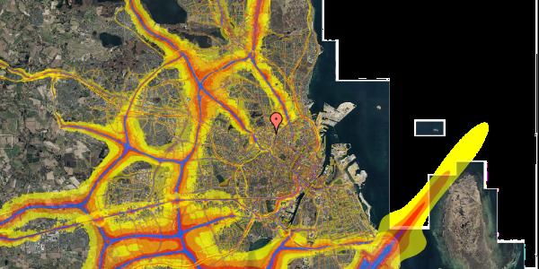 Trafikstøjkort på Bygmestervej 21C, 5. th, 2400 København NV