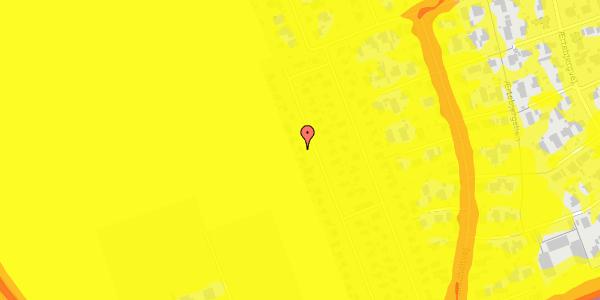 Trafikstøjkort på Hf. Dahlia 70, 2650 Hvidovre