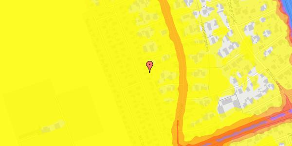 Trafikstøjkort på Hf. Dahlia 28, 2650 Hvidovre