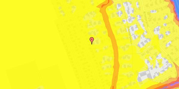 Trafikstøjkort på Hf. Dahlia 36, 2650 Hvidovre