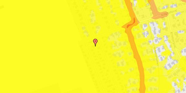 Trafikstøjkort på Hf. Dahlia 57, 2650 Hvidovre