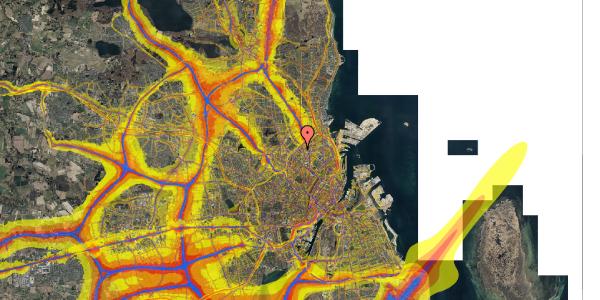 Trafikstøjkort på Emblasgade 85, st. , 2100 København Ø