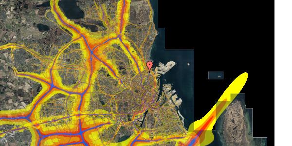 Trafikstøjkort på Nygårdsvej 30B, 2. , 2100 København Ø