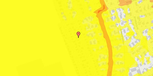 Trafikstøjkort på Hf. Dahlia 43, 2650 Hvidovre