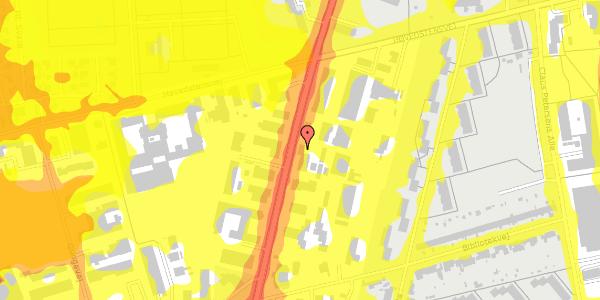 Trafikstøjkort på Arnold Nielsens Boulevard 67, 2650 Hvidovre