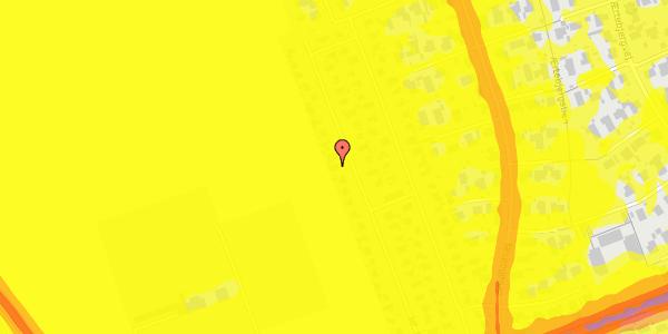 Trafikstøjkort på Hf. Dahlia 76, 2650 Hvidovre