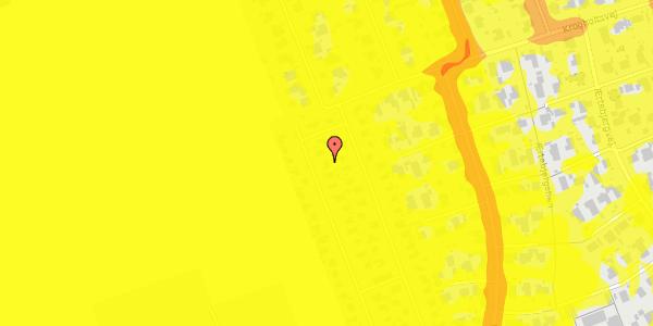 Trafikstøjkort på Hf. Dahlia 61, 2650 Hvidovre