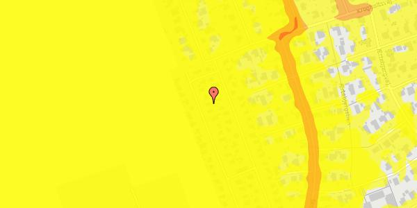 Trafikstøjkort på Hf. Dahlia 63, 2650 Hvidovre