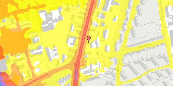 Trafikstøjkort på Arnold Nielsens Boulevard 77, 1. , 2650 Hvidovre