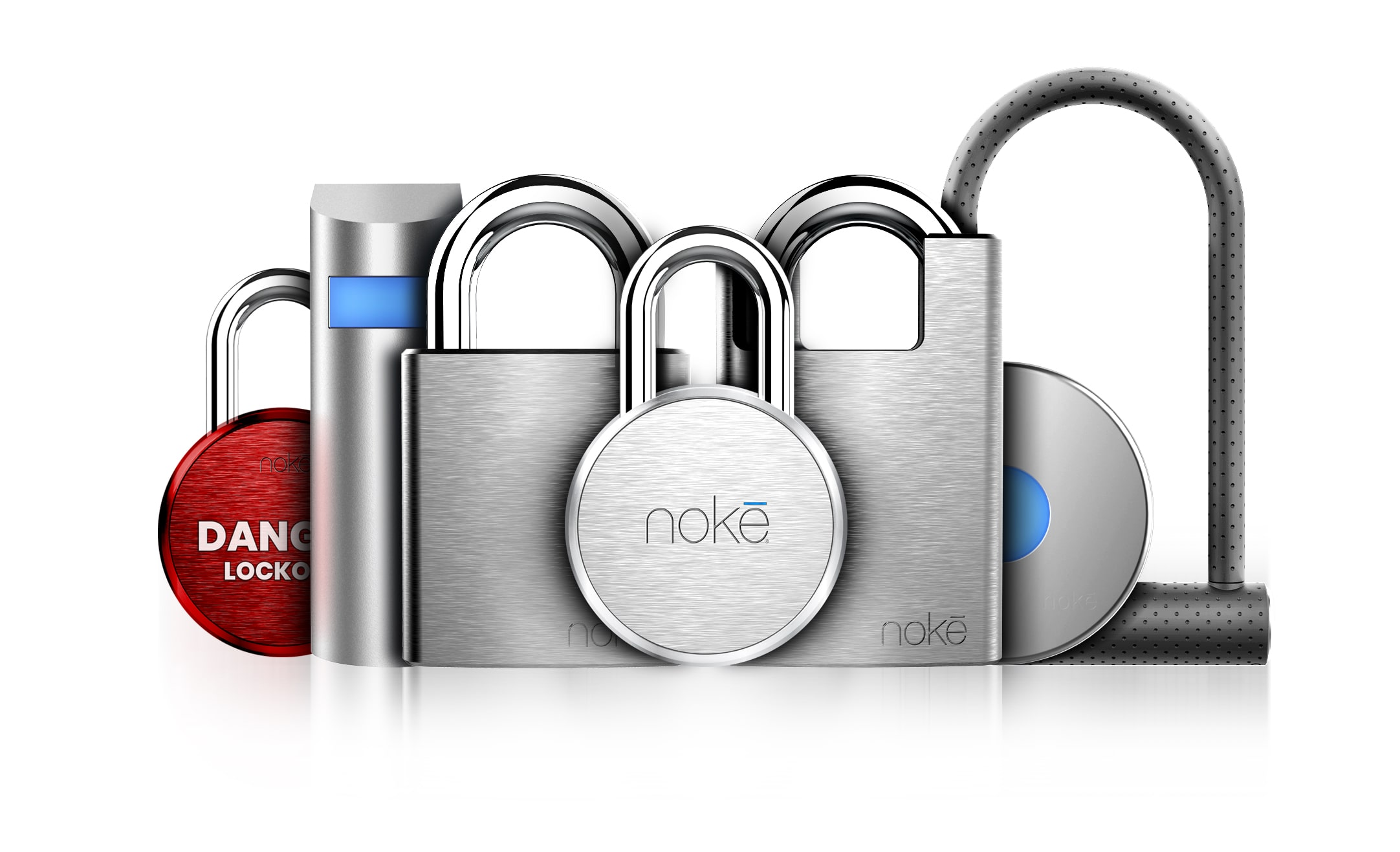 Nokē Bluetooth padlock, door lock, U-Lock