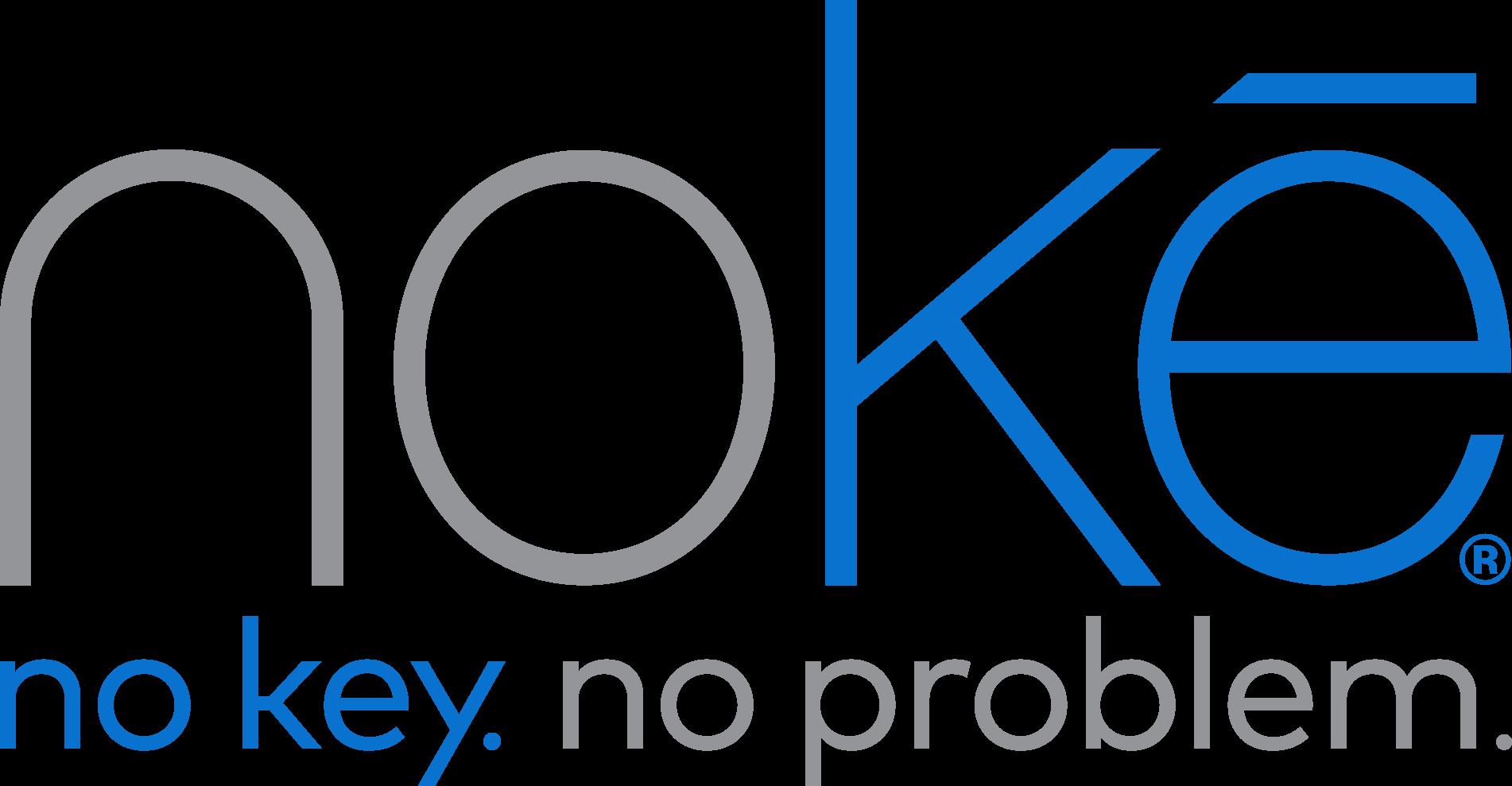 Nokē logo With Tag Line