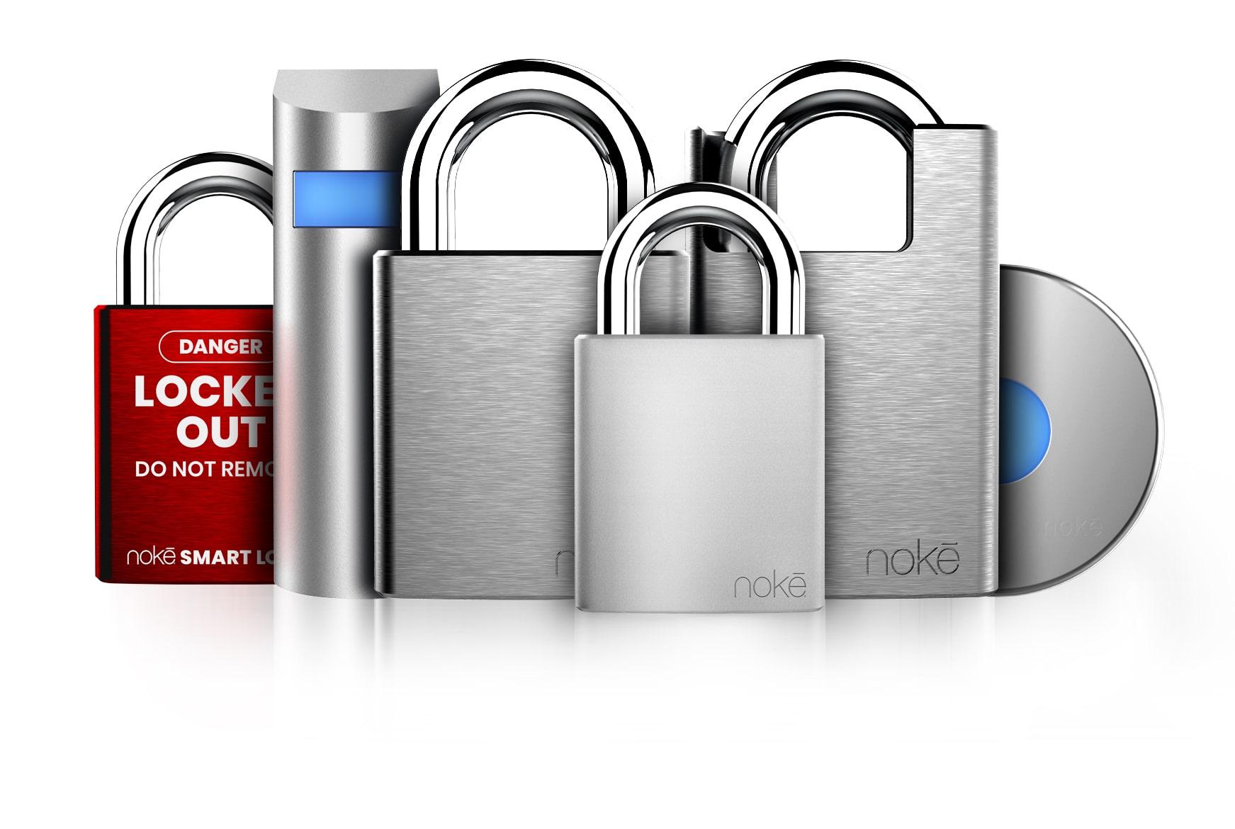 Nokē | Bluetooth padlock, door lock, U-Lock | Keyless Lock