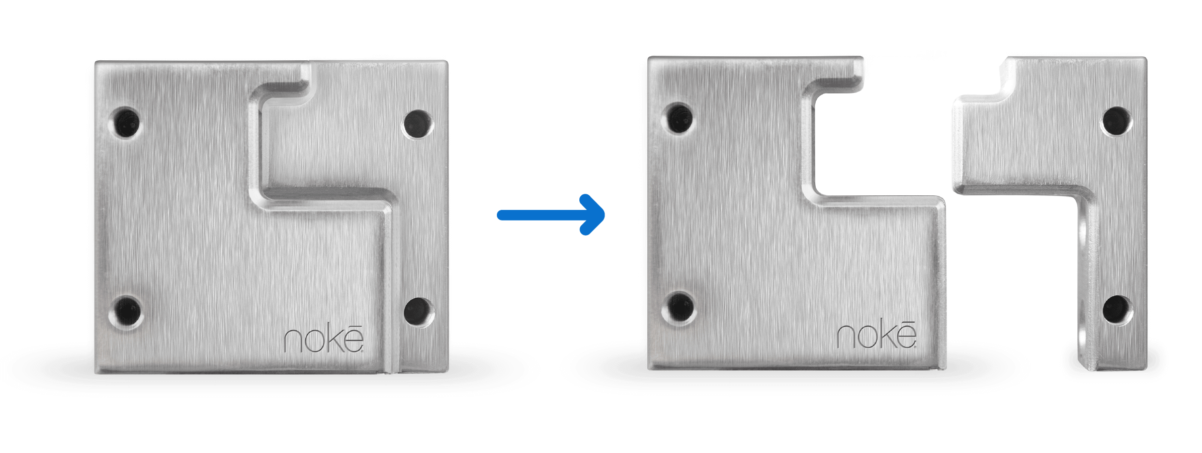 Nokē Lock Block Open