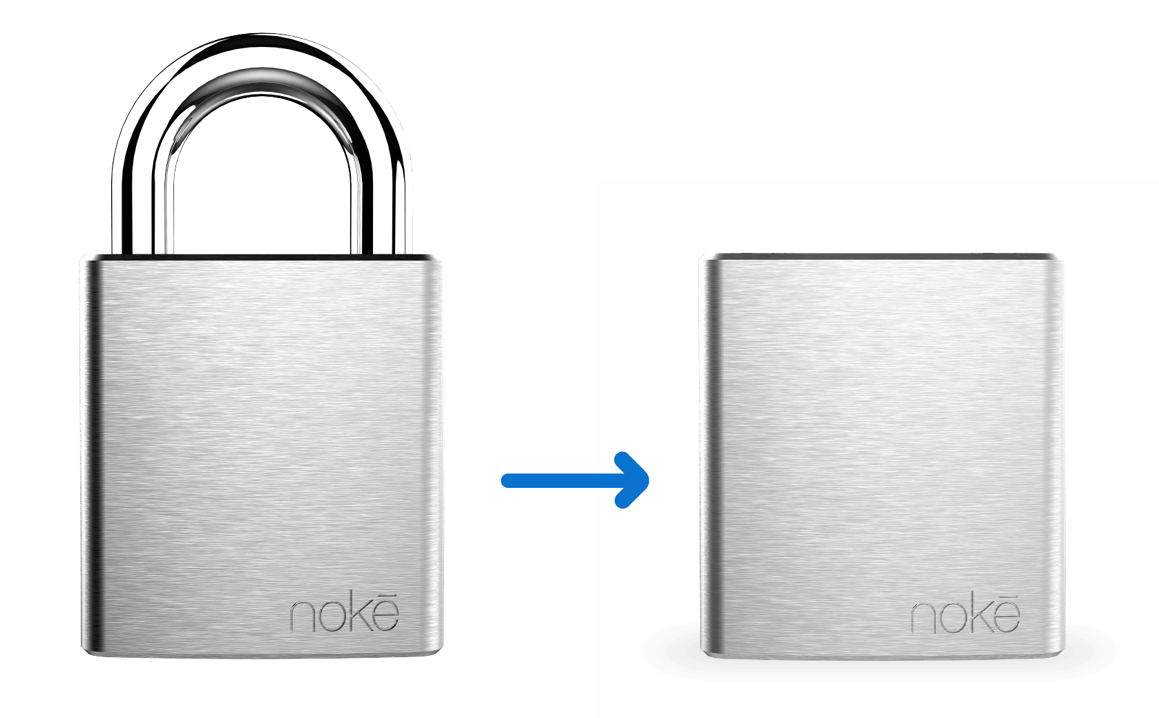 Nokē Lock Block HD Lock Shackle Remove