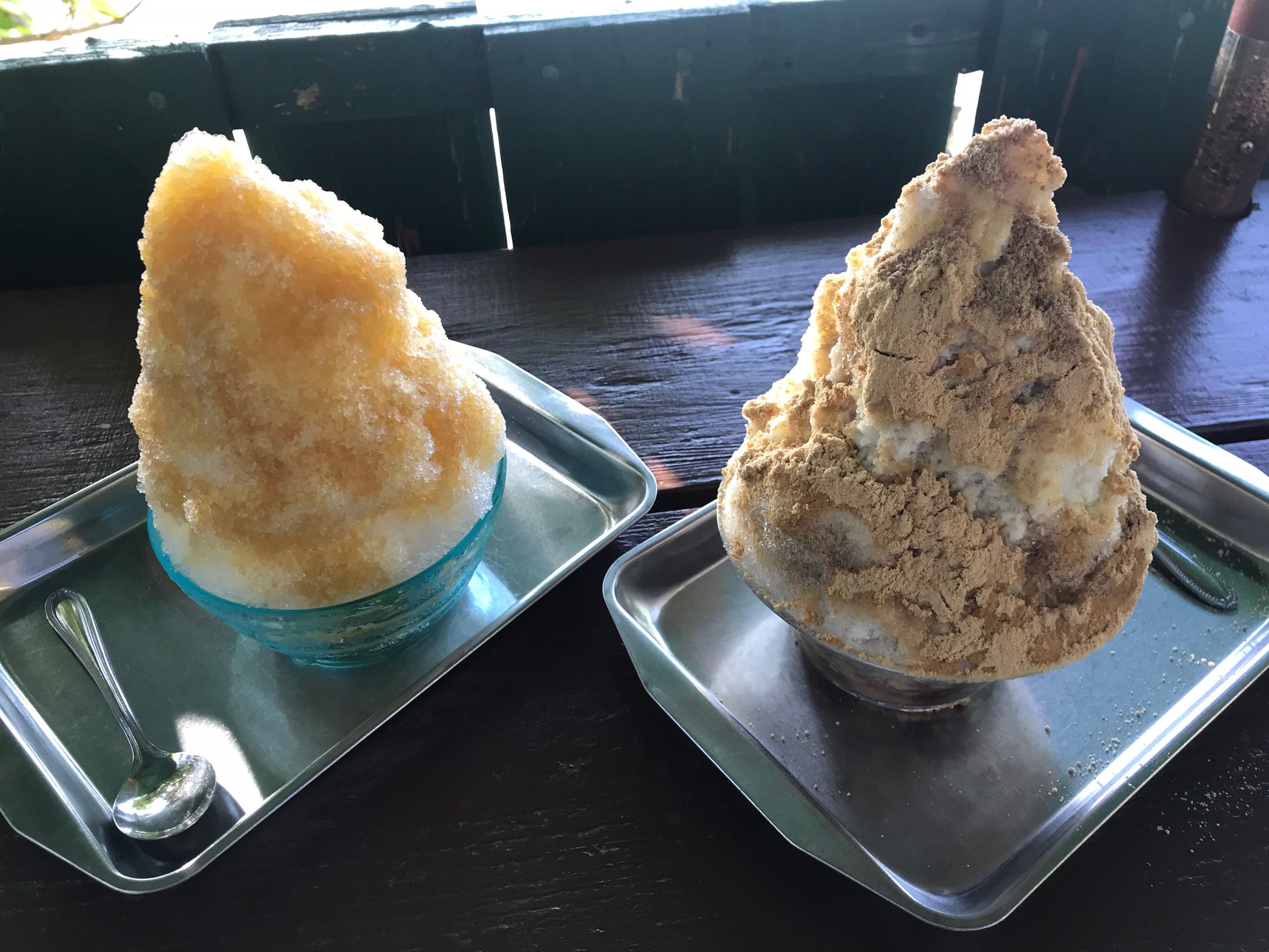 Minpika shaved ice