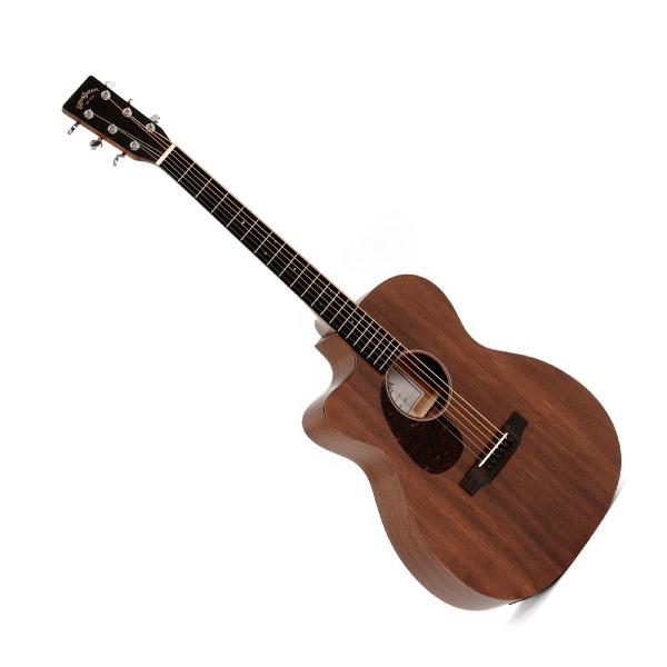 undefined Guitare acoustique et électrique Sigma 000MC-15EL+ Type Folk tout en acajou - gauchers