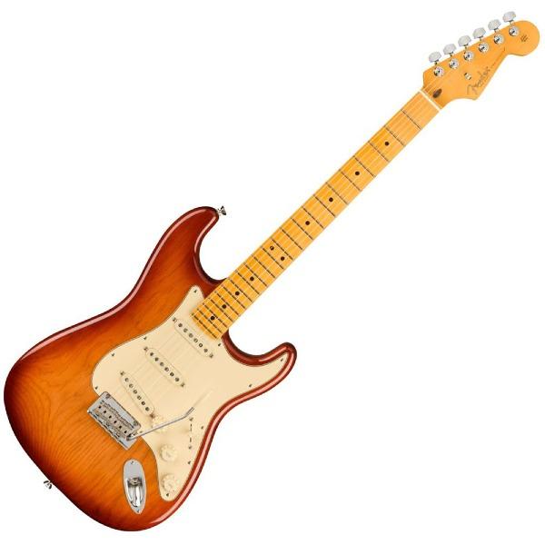 undefined Guitare Fender Stratocaster American Professional II, touche en érable - Sienna Sunburst