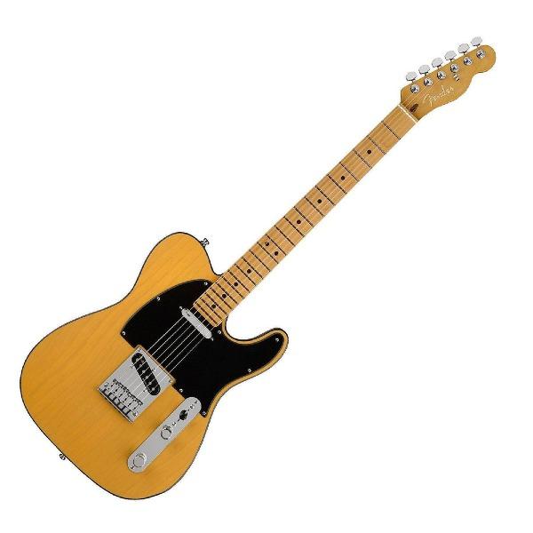 undefined Guitare Electrique Fender American Ultra Telecaster, touche en érable - Butterscotch Blonde