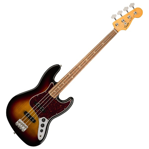 undefined Jazz Bass 60's, touche Pau Ferro - Sunburst 3 tons Sunburst Fender 014-0163-700