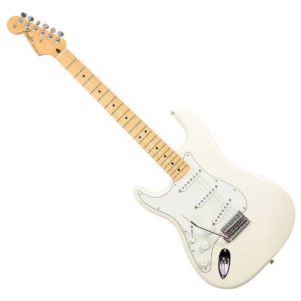 undefined Guitare Électrique Stratocaster Standard Gauchère Blanche Fender 014-4622-580