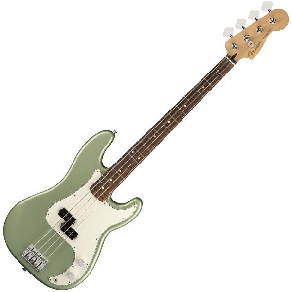 undefined Basse Player Precision , touche en Pau Ferro - Sage Green Metallic Fender 014-9803-519