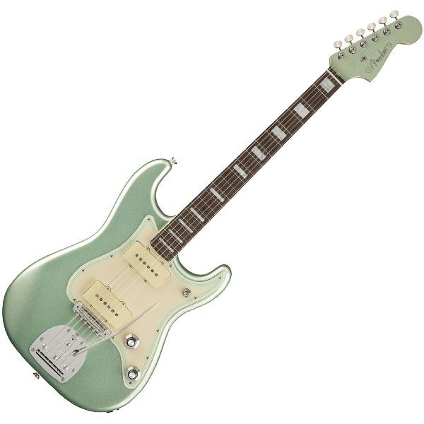 undefined Guitare Electrique Fender Jazz Strat Parallel Universe Vol. II - Mystic Surf Green