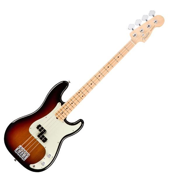 undefined Fender American Professional Precision Bass touche en érable - 3-Colour Sunburst
