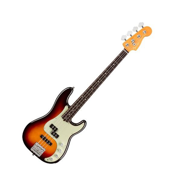 undefined Fender American Ultra Precision Bass, touche en palissandre - Ultra Burst