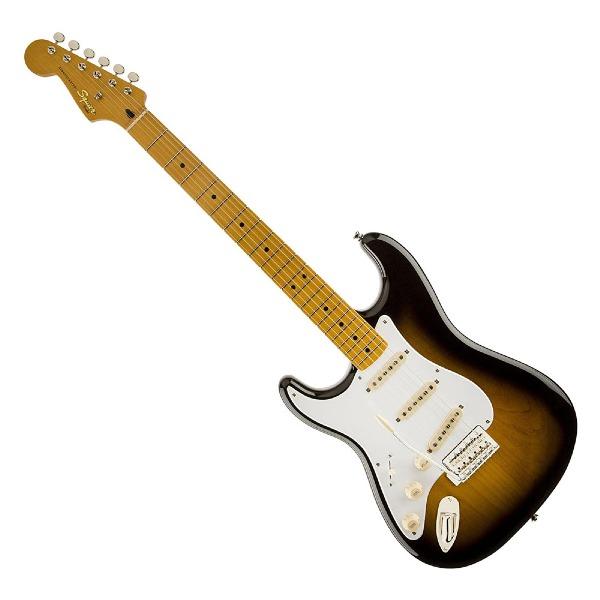 undefined Guitare Squier Stratocaster Classic Vibe '50s - Sunburst deux tons (gauchère) Fender 030-3009-503