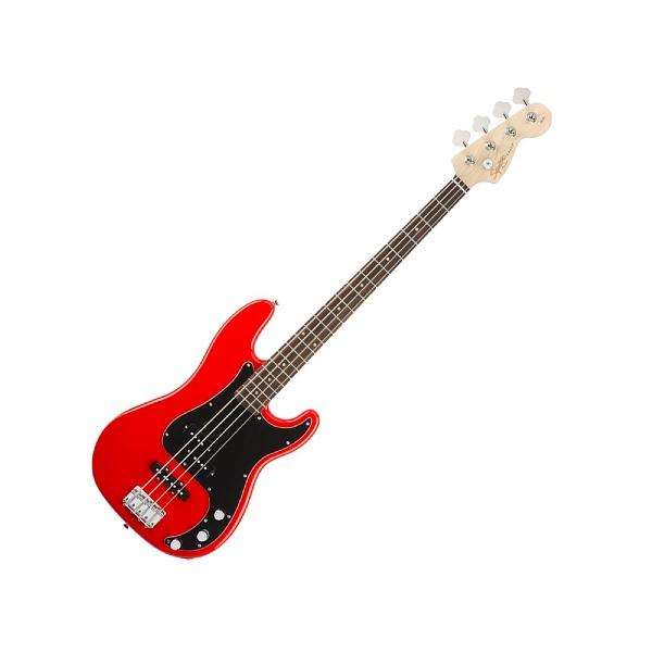 undefined Squier Affinity Precision Bass PJ, touche en laurier, Race Red
