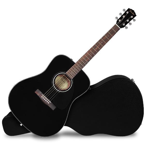 undefined Guitare acoustique dreadnought CD-60 V3 noir Fender 097-0110-206