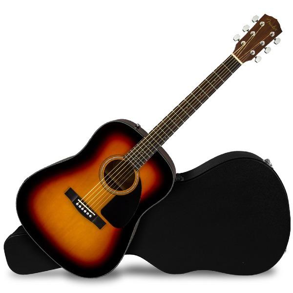 undefined Guitare acoustique dreadnought CD-60 V3 sunburst Fender 097-0110-206