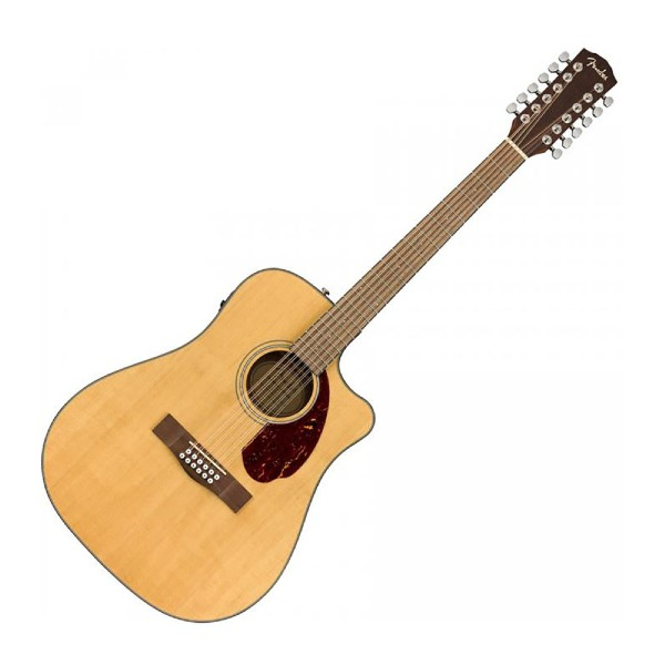 undefined Guitare Accoustique 12 Cordes Fender CD-140SCE-12