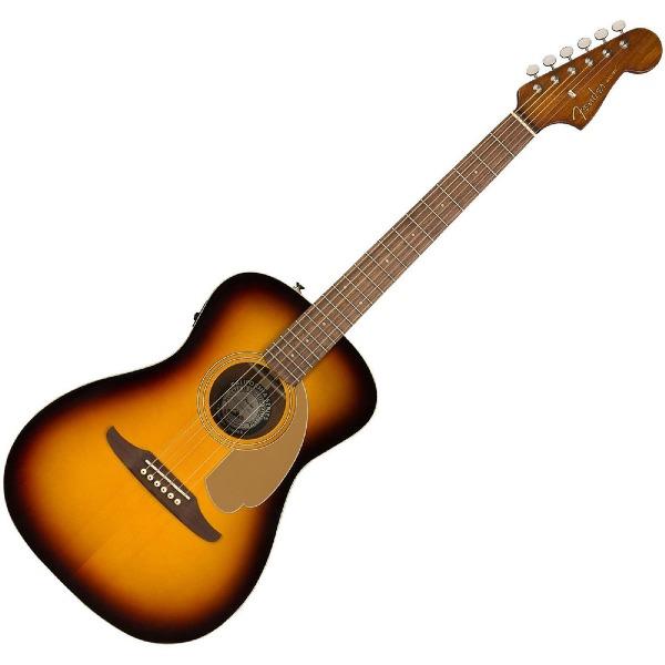 undefined Guitare Malibu Player Fender , Touche en noyer - Sunburst