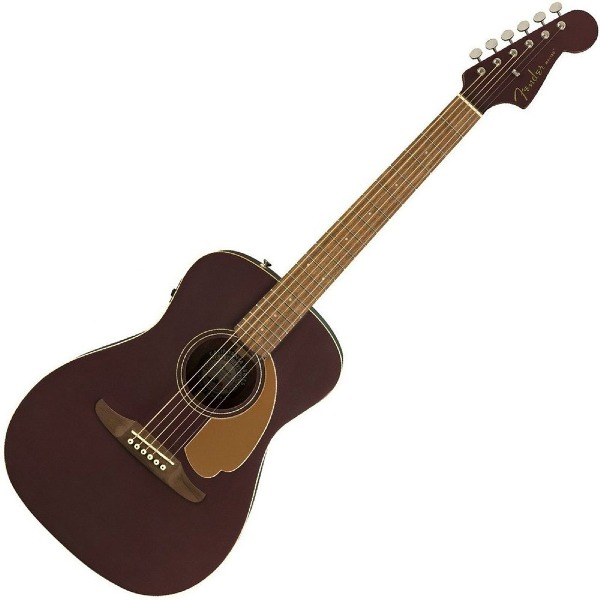 undefined Guitare Acoustique Fender Malibu Player - Burgundy Satin