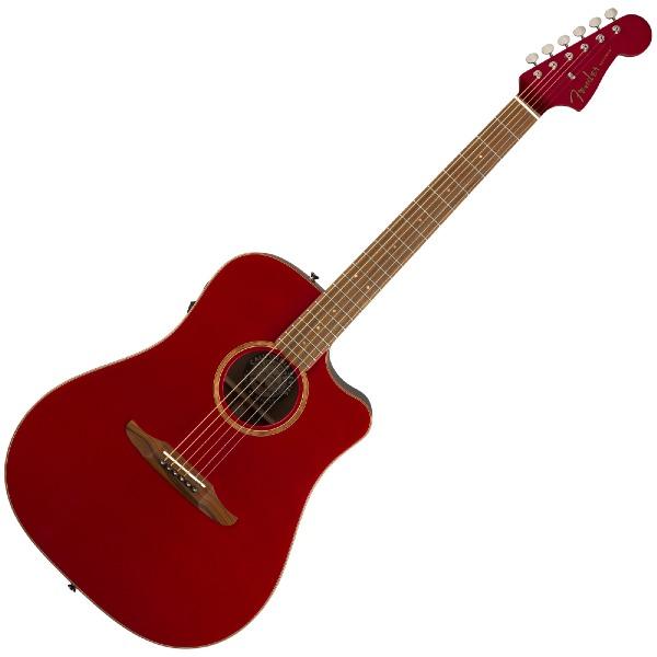 undefined Guitare Acoustique Fender Redondo Classic - Hot Rod Red Metallic avec étui