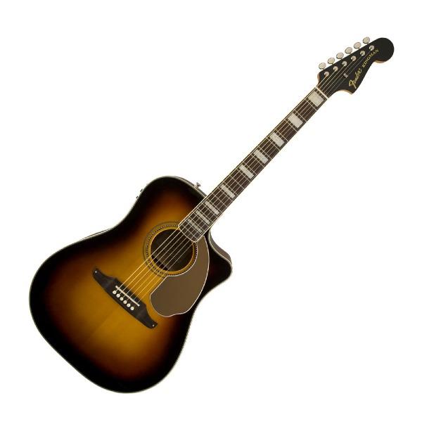 undefined Guitare Acoustique Fender Kingman™ ASCE avec étui, Sunburst 3-Couleur