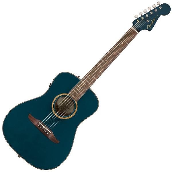 undefined Guitare Acoustique Fender Malibu Classic - Cosmic Turquoise avec étui