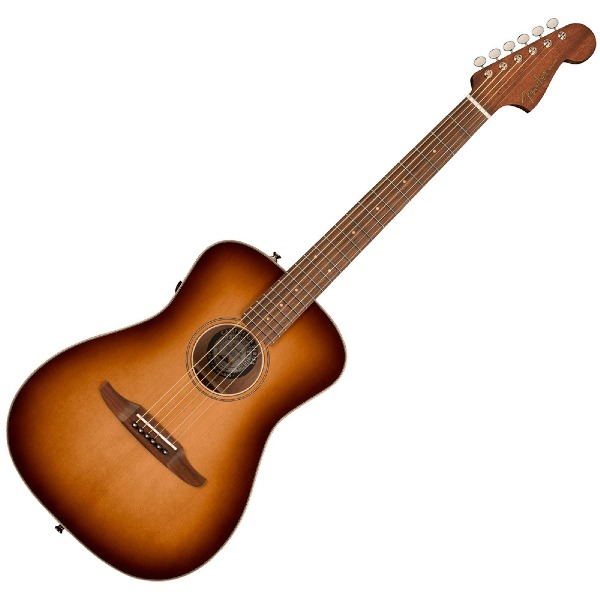 undefined Guitare Fender Malibu Classic, touche Pau Ferro avec sac - Aged Cognac Burst