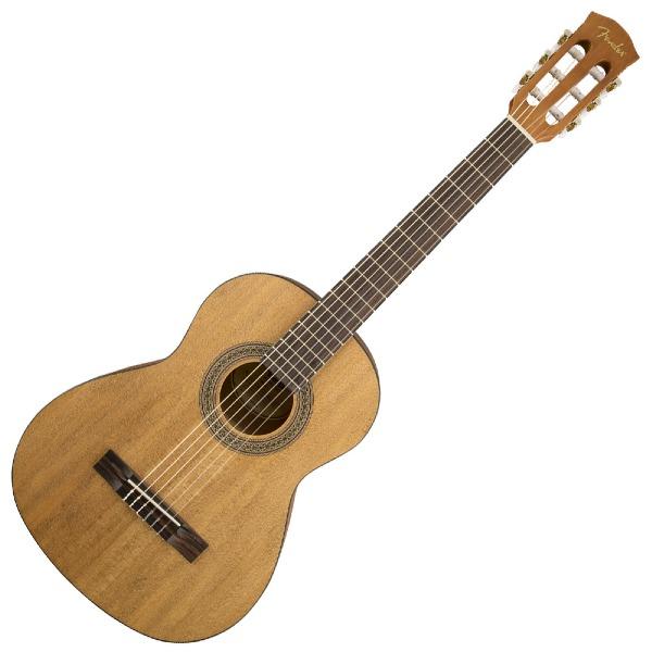 undefined Guitare Fender FA-15N 3/4 à cordes de nylon avec sac de transport