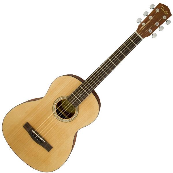 undefined Guitare acoustique 3/4 naturel avec étuis souple Fender 097-1170-121
