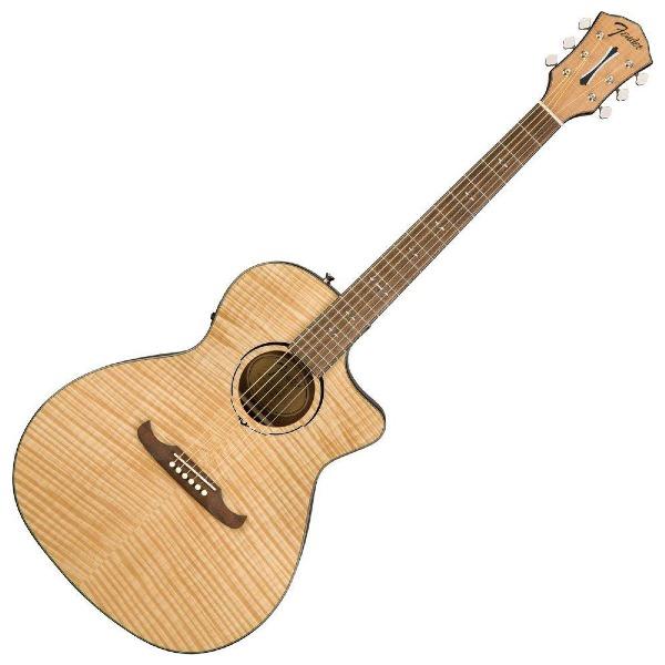 undefined Guitare électro-acoustique Auditorium Fender FA-345CE - Naturelle