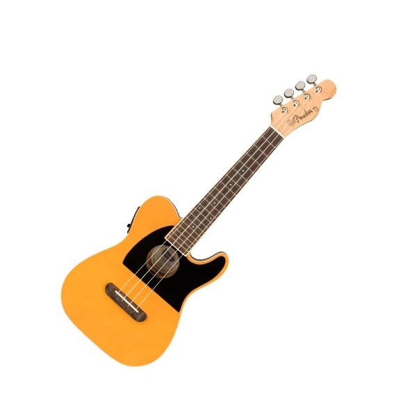 undefined Ukulélé Fender Telecaster de la série Fullerton - Butterscotch Blonde
