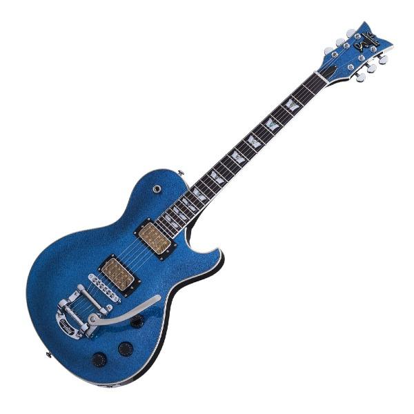 undefined Guitare Schecter Solo-6B couleur Blue Sparkle 175-SHC