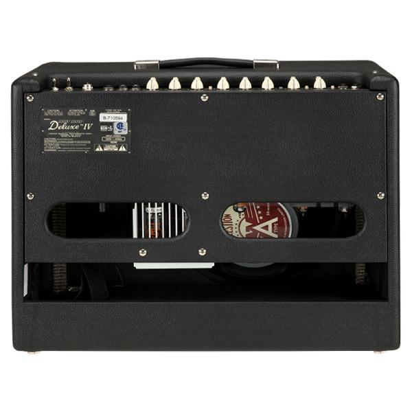 undefined Amplificateur combo à lampe Fender Hot Rod Deluxe IV 40W 1x12 - Noir