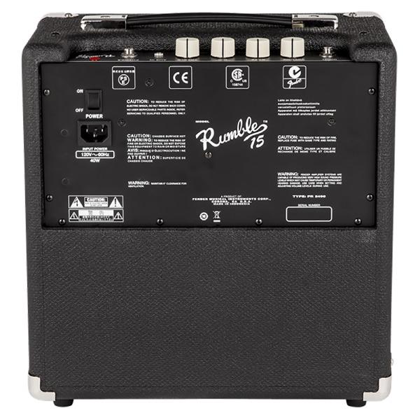 undefined Fender Rumble 15 - ampli de basses de 15 Watt de la série Rumble (V3)