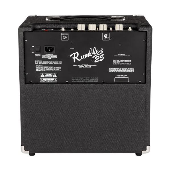 undefined Fender Rumble 25 - ampli de basses de 25 Watt de la série Rumble (V3)