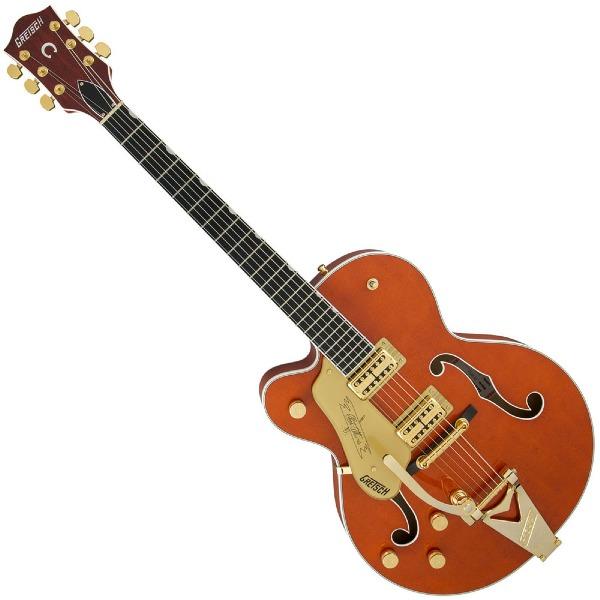 undefined Guitare Electrique G6120TLH Players Edition Nashville avec String-Thru Bigsby Orange Stain - Gaucher Gretsch 240-1320-822
