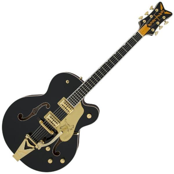 undefined Guitare Électrique Gretsch G6136T-BLK Players Edition Falcon avec String-Thru Bigsby, Micros Filter'Tron, Noir