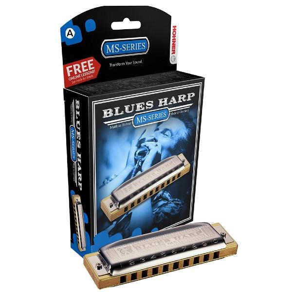 undefined Harmonica Hohner Blues Harp - Tonalité de A